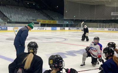 Highlanders in der Trainingsvorbereitung für die EWHL
